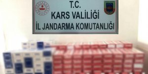 Jandarma 25 bin liralık elektronik sigara cihazı sigarası ele geçirdi
