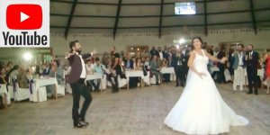 Sosyal medyada çok konuşulan düğün dansı : Serdar Arpaçay ve Duygu Kürklü