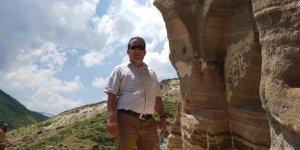 Kaymakam Öter, Ağkeran Mağaralarını inceledi
