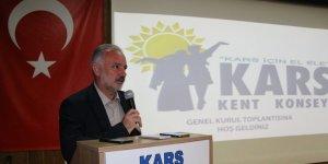 Kars Kent Konseyi Genel Kurulu Toplantısını yaptı