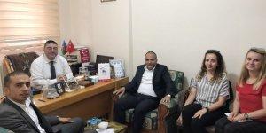 Kars PTT'den Kuzey Doğu Gazeteciler Cemiyeti'ne tanıtım ziyareti