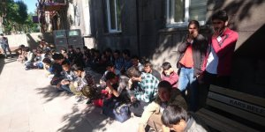 Kars'ta 56 düzensiz göçmen yakalandı
