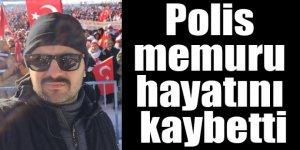 Kars'ı üzüntüye boğan trafik kazası : polis memuru Adnan Keçeli hayatını kaybetti