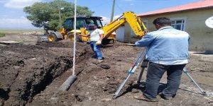 Dikme köyü kanalizasyona kavuşuyor