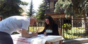 Kars'ta 15 Temmuz Anı Defteri açıldı
