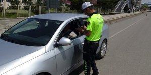 Kars'ta 43 araca 16 bin lira para cezası