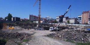 Sultan Alpaslan Külliyesi'nde çimento bitti yapı paydos