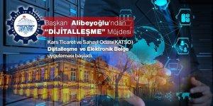 """Başkan Alibeyoğlu'ndan """"Dijitalleşme"""" müjdesi"""