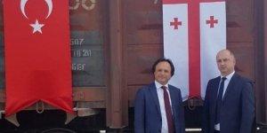 Bakü-Tiflis-Kars demiryoluyla Türkiye'den Gürcistan'a kargo taşımacılığı başladı