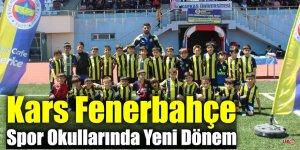 Kars Fenerbahçe Spor Okullarında Yeni Dönem