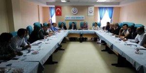 Kars'ta bağımlılıkla mücadele toplantısı