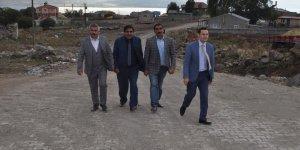 Kars'ta köy yolları tamamlanıyor