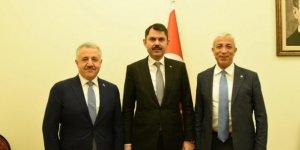 Milletvekilleri Arslan ve Kılıç, Çevre Şehircilik Bakanı Kurum'u ziyaret etti