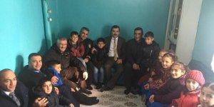 Kaymakam Koşal'dan, şehit ailelerine ziyaret