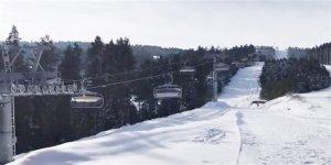 Türkiye'de bir ilk olan kapalı telesiyej sistemi Sarıkamış'ta hizmette