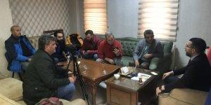 AK Parti Kars İl Başkanı Çalkın, basın mensuplarıyla bir araya geldi