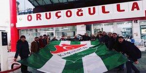 """Ali Rıza Hoşgönüllü : """"Kars36 Spor için elimizi taşın altına değil, bedenimizi koyarız"""""""