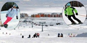 Sarıkamış Kayak Merkezinde, 3 ve 4 nolu pistler kayak için hazır