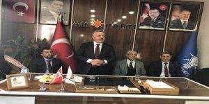 Milletvekilleri Arslan ve Kılıç'dan, AK Parti Kağızman İlçe Başkanına ziyaret