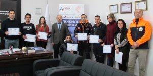 AFAD ve 112 personeline Temel İngilizce eğitimi verildi
