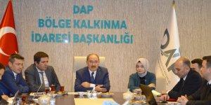 DAP bölgesi kalkınma ajanslarıyla işbirliği toplantısı