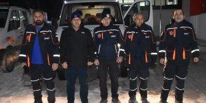 Kars ekibi Elazığ depremi için yola çıktı