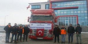 Kars'tan Elazığ'daki depremzedelere bin koli gıda yardımı