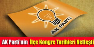 Kars AK Parti'nin ilçe kongre tarihleri belli oldu