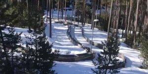 Sarıkamış, Türkiye Kızak Şampiyonası'na ev sahipliği yapıyor