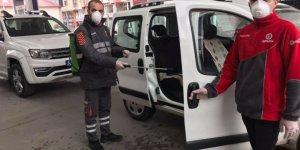 Oruçoğulları Aytemiz Petrol'de Araçlara Ücretsiz Dezenfeksiyon