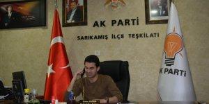 AK Parti Sarıkamış İlçe Teşkilatı'ndan 65 yaş üstü üyelere telefon