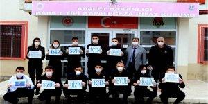 Kars'ta cezaevlerinde koronavirüs tedbirleri