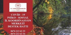 Kars'ta, 'Psiko-Sosyal Destek İl Koordinasyon Merkezi' kuruldu