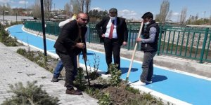 Akyaka Belediyesi'nde ağaçlandırma seferberliği