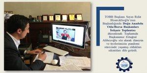 Başkan Alibeyoğlu esnafın sorunlarını dile getirdi