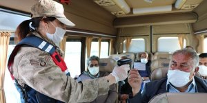 "Kars'ta, Jandarmadan koronavirüs ""Huzur Güven Uygulaması"""