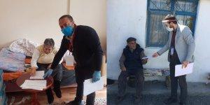 """Kars'ta, """"Vefa Sosyal Destek Grubu"""" 8 bin 885 talebi karşıladı"""