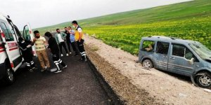 Kars-Tuzluca kara yolunda kaza: 1 yaralı