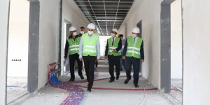 Vali Öksüz kentteki yatırımları inceledi