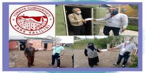 """Kars'ta, """"Vefa Sosyal Destek Grubu"""" 12 bin 812 talebi karşıladı"""