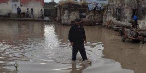 Kars'ta 2 köyü sel vurdu