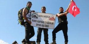 Karslı dağcıların keşif güncesi 'Kabak Dağı'