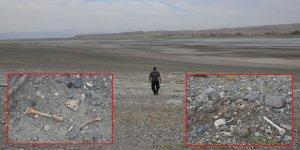 Kars'ta sular çekildi tarih ortaya çıktı