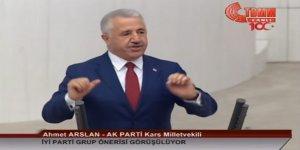 Arslan'dan TBMM'de İYİ Parti'ye cevap!
