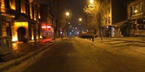 Kars'ta sokaklar sessizliğe büründü