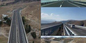 Sarıkamış-Karakurt-Horasan bölünmüş yolu Cumartesi gün açılıyor
