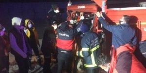 Kars'ta trafik kazası: 1 yaralı!