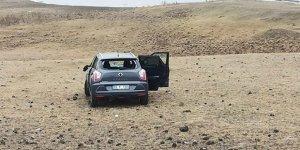 Kağızman'da trafik kazası: 1 yaralı!