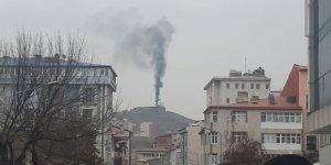 Kara duman şehrin her noktasından gözüktü