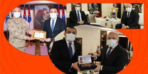 Vali/Belediye Başkanı Türker Öksüz, Erzurum'da ziyaretlerde bulundu